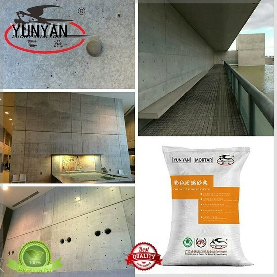 Quality YUNYAN Brand stucco interior stucco paint