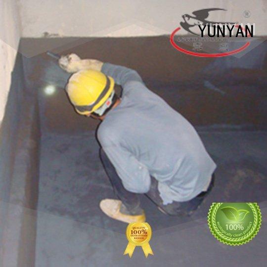 Custom setting waterproofing waterproof basement flooring