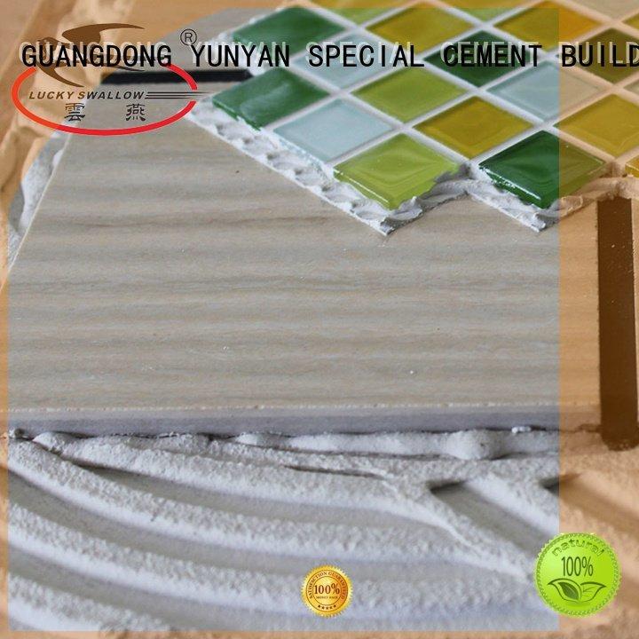 mosaic sanded unsanded tile YUNYAN stone tile adhesive