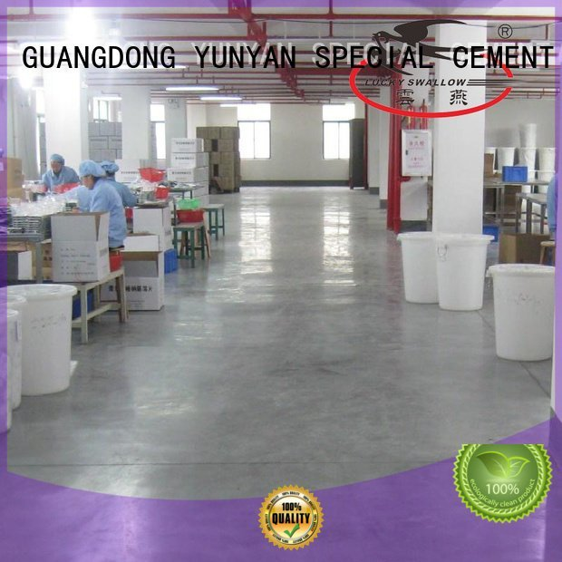 sealing concrete garage floors selfleveling floor YUNYAN Brand