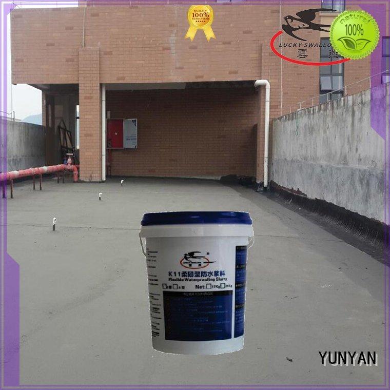 YUNYAN Brand slurry cement agent waterproof basement cement floor