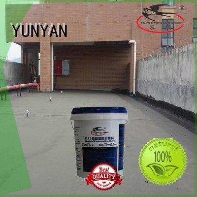 Hot waterproof basement cement floor setting waterproofing slurry YUNYAN Brand