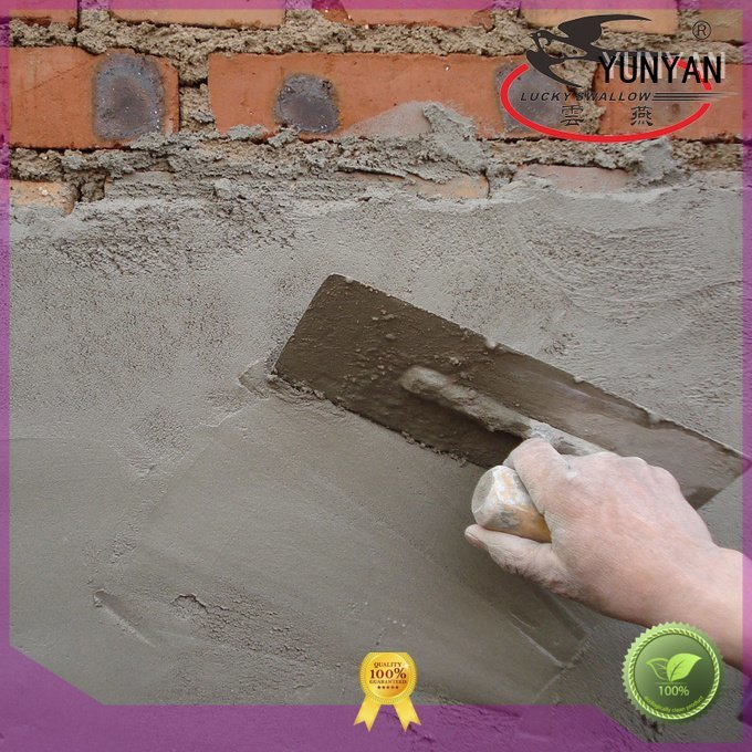 YUNYAN Brand mortar cement cement rendered wall thinset screed