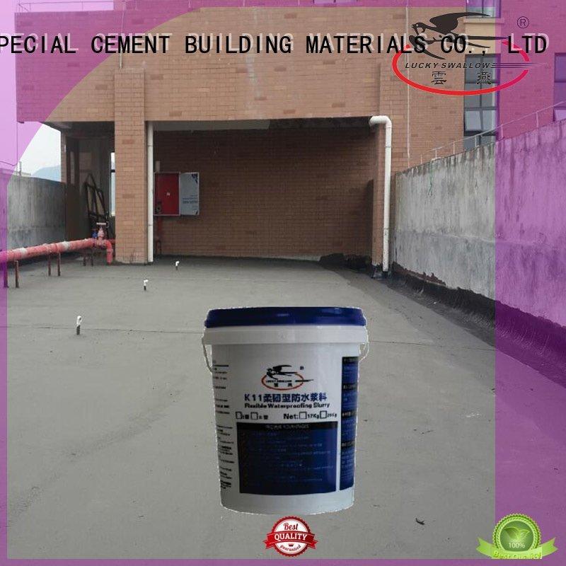 YUNYAN waterproof basement cement floor fast rigid building