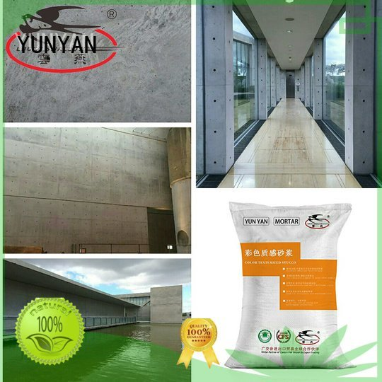 YUNYAN Brand natural stucco painting interior stucco walls paint concrete