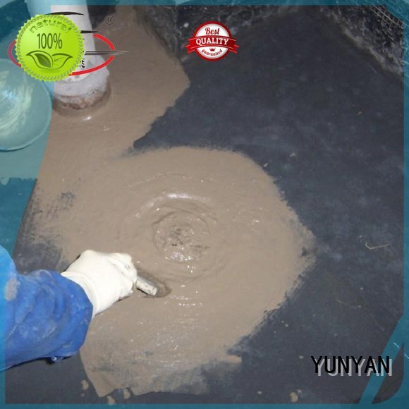 YUNYAN waterproof basement cement floor mortar polymer building