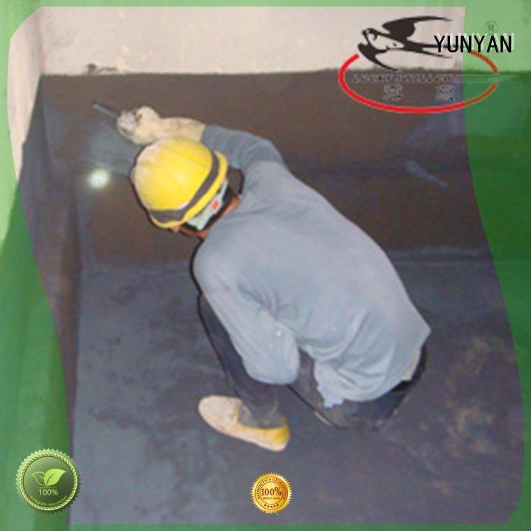 YUNYAN rigid waterproofing waterproof basement flooring wps agent
