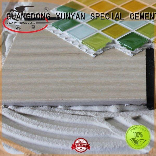 Wholesale mosaic adhesive stone tile adhesive YUNYAN Brand
