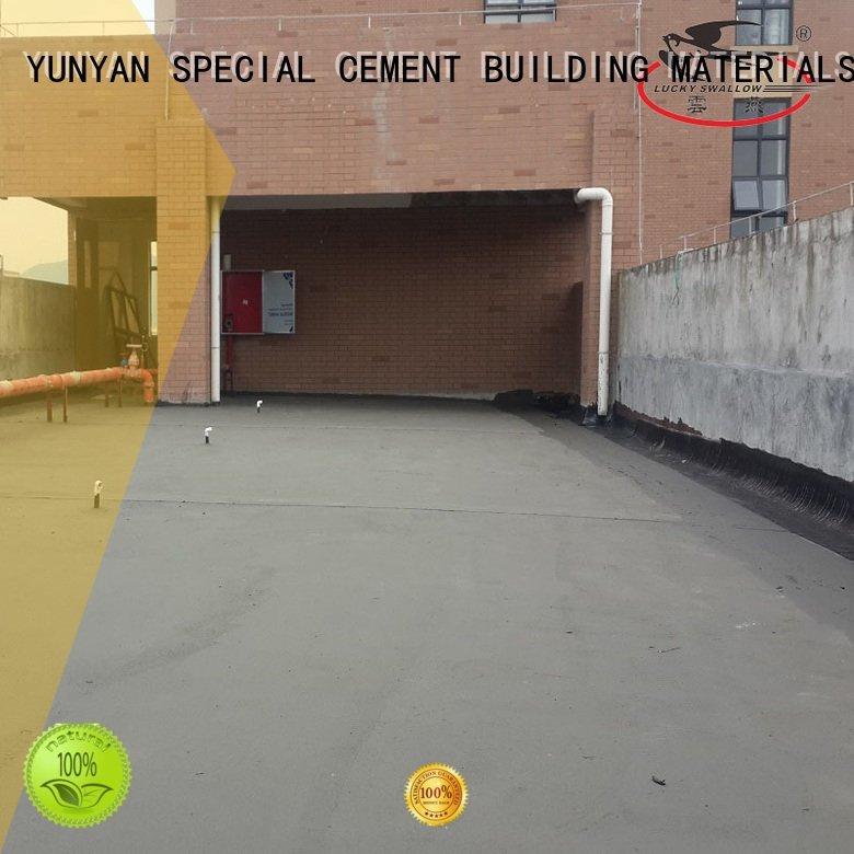 waterproof basement cement floor mortar fast setting YUNYAN