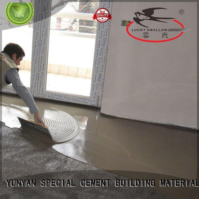 sealing concrete garage floors cement concrete selfleveling floor YUNYAN