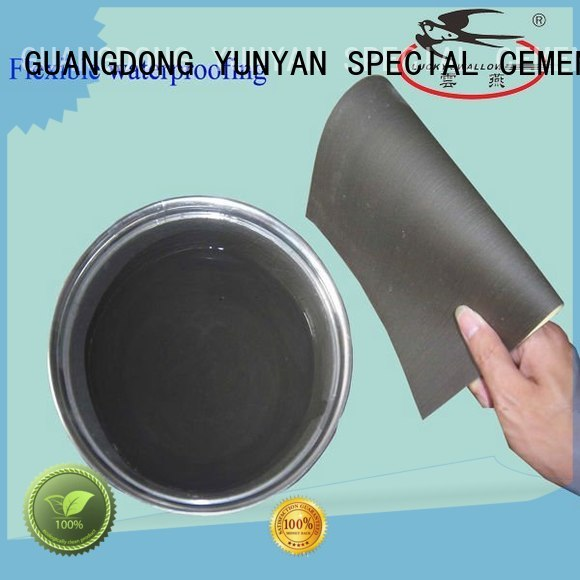 Hot waterproof basement cement floor waterproofing YUNYAN Brand