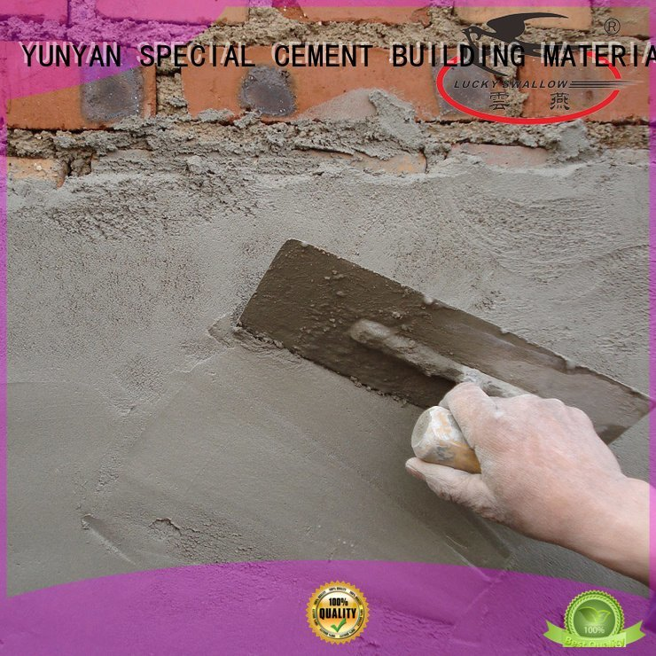 YUNYAN Brand screed thinset sand and cement screed plaster repair