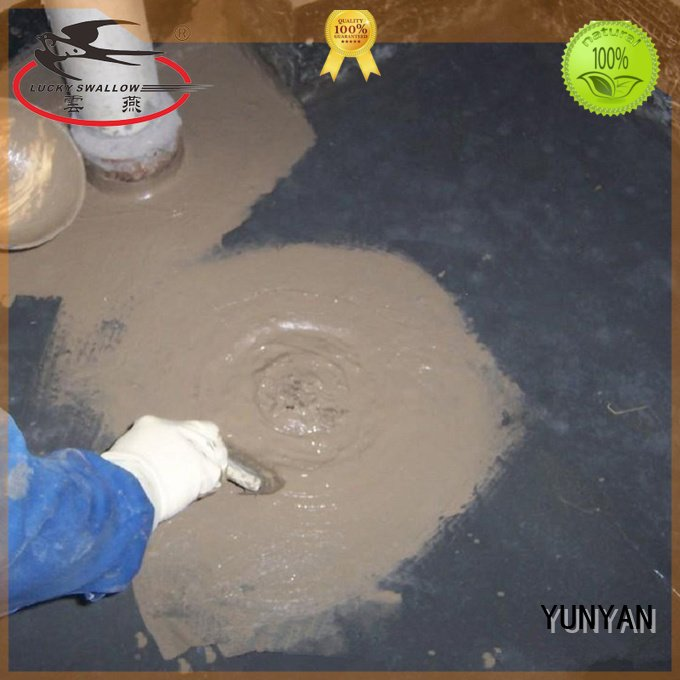 latex flexible antipermeability YUNYAN waterproof basement cement floor