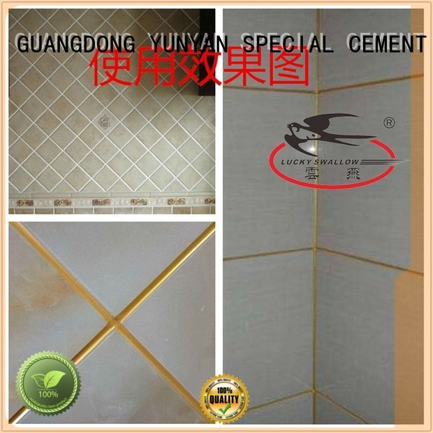 tile Custom grout non shrink grout colored YUNYAN