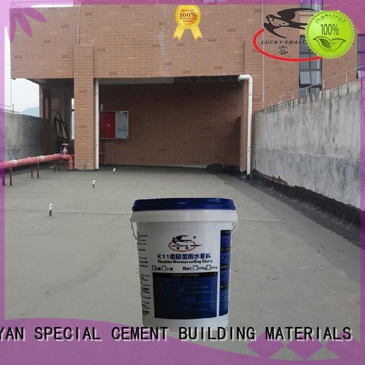 waterproof basement cement floor waterplug transparent waterproof basement flooring