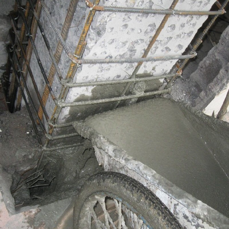 Non Shrink Grout For Filling Gap Of Columns Holes And Defects Of Concrete