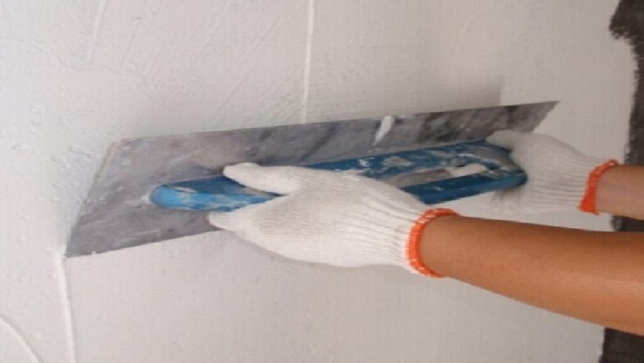 How to apply YUNYAN wall putty