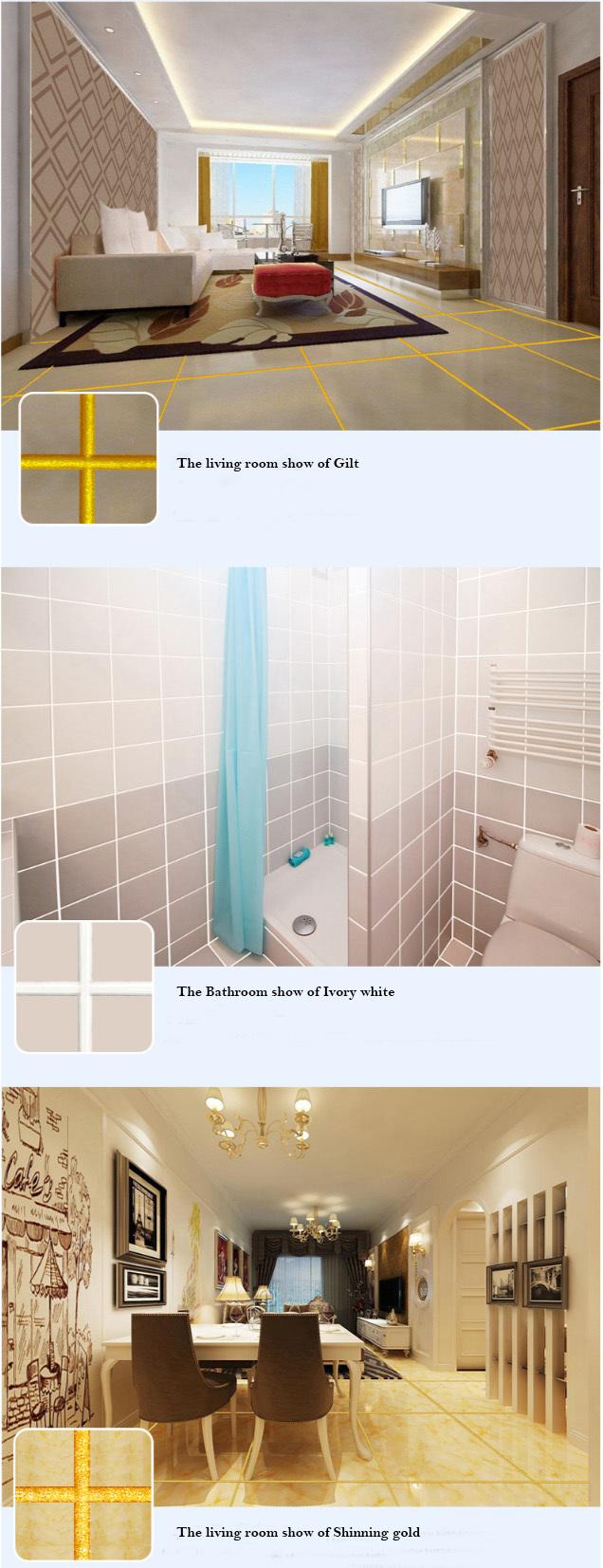Double Component Colored  Epoxy Tile Grout