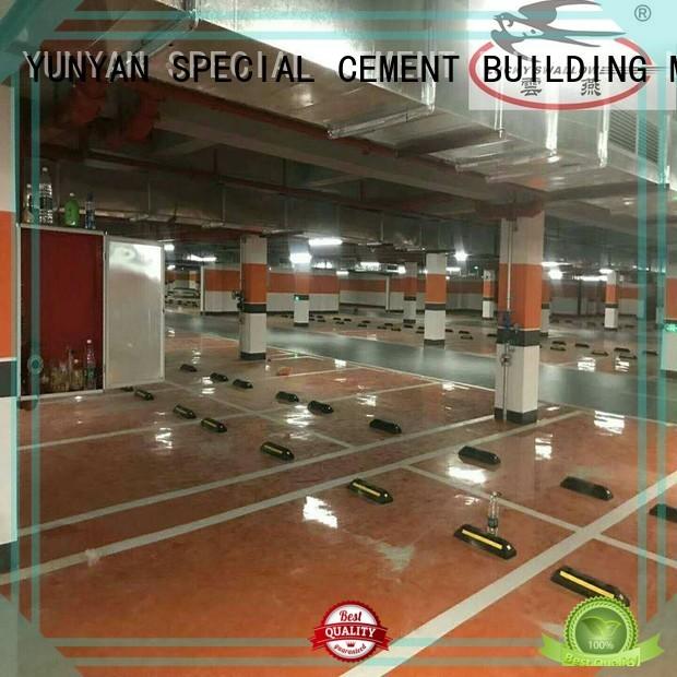 floor cement concrete YUNYAN Brand sealing concrete garage floors manufacture