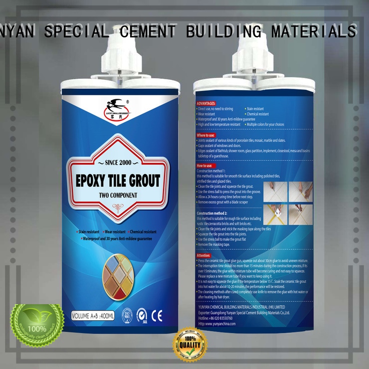 Hot non shrink grout grout YUNYAN Brand