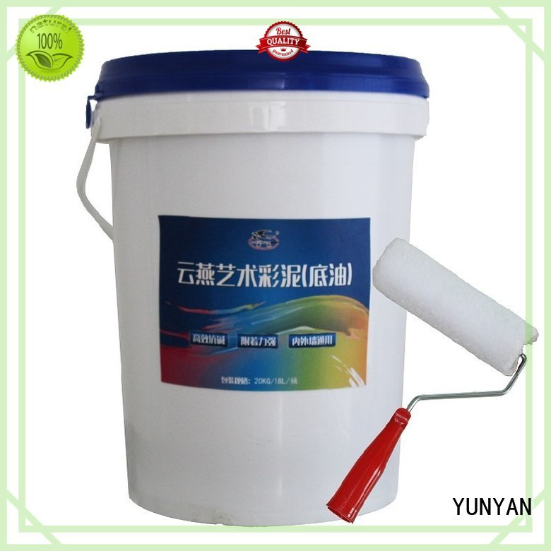 cement stucco paint painting interior stucco walls YUNYAN Brand