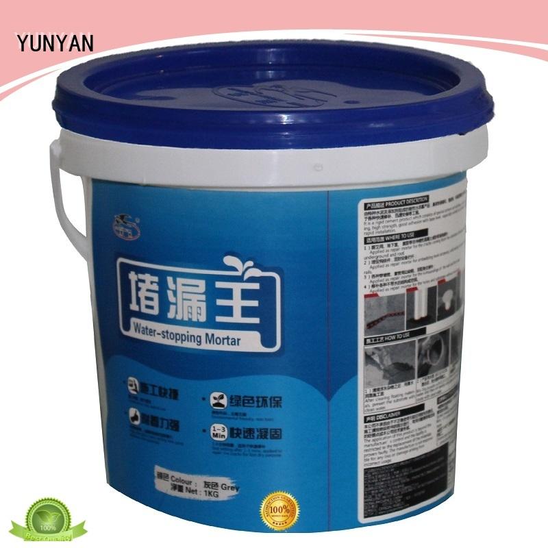 YUNYAN Brand slurry setting waterproof basement flooring manufacture