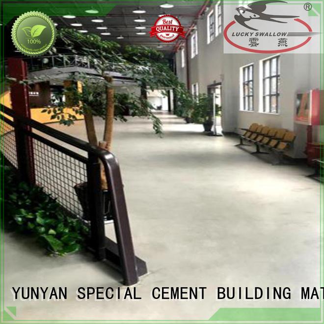 YUNYAN Brand hardener cement custom sealing concrete garage floors