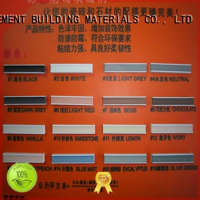YUNYAN Brand colored grout non shrink grout price epoxy