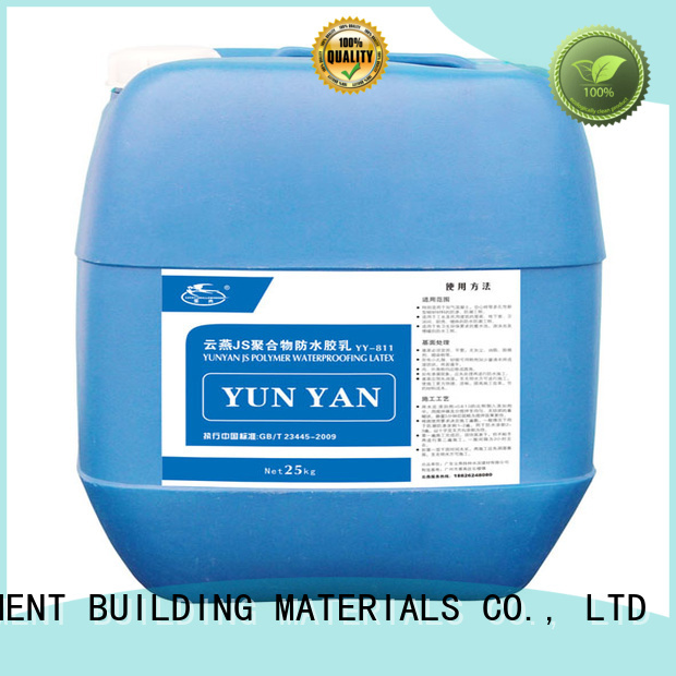 YUNYAN Brand cement setting building custom waterproof basement cement floor