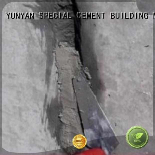 YUNYAN Brand mortar plaster cement rendered wall floor render