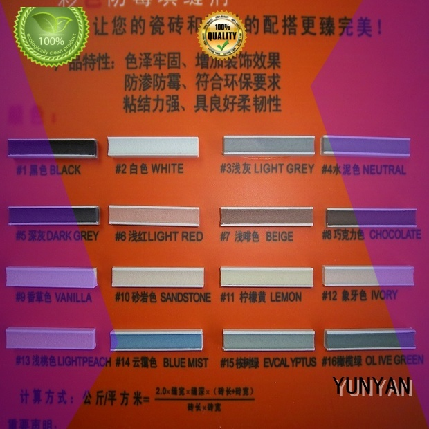 Quality YUNYAN Brand non shrink grout price grout epoxy