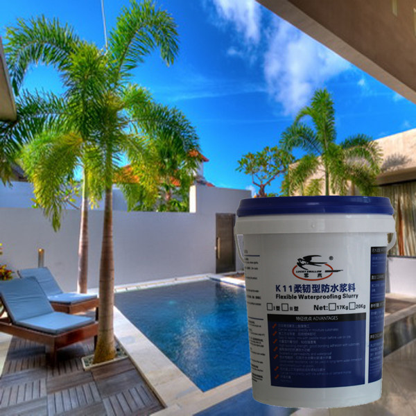 K11 Super Flexible Cement Latex Compound For Swimming Pool And Roof