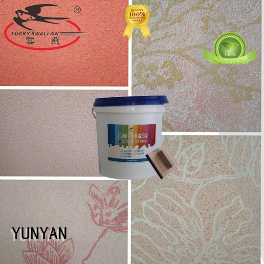 YUNYAN Brand natural textured powder coat stone factory