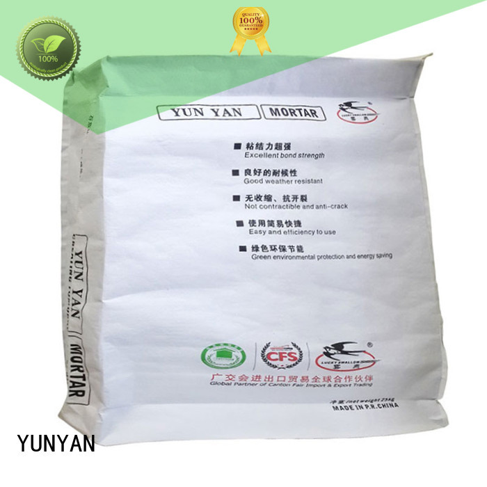 thinset render cement rendered wall YUNYAN manufacture