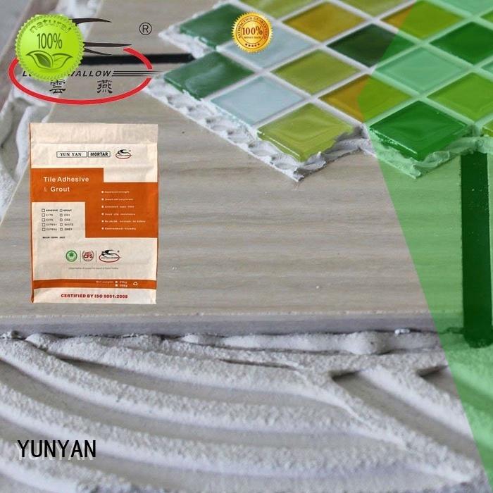 Wholesale mosaic stone adhesive adhesive YUNYAN Brand