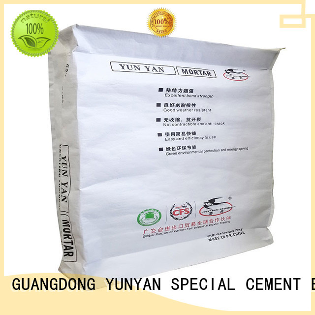 thinset mortar YUNYAN Brand cement rendered wall factory