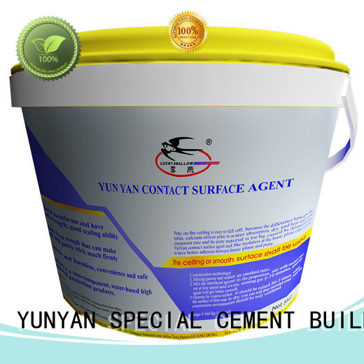 plaster render cement rendered wall YUNYAN manufacture