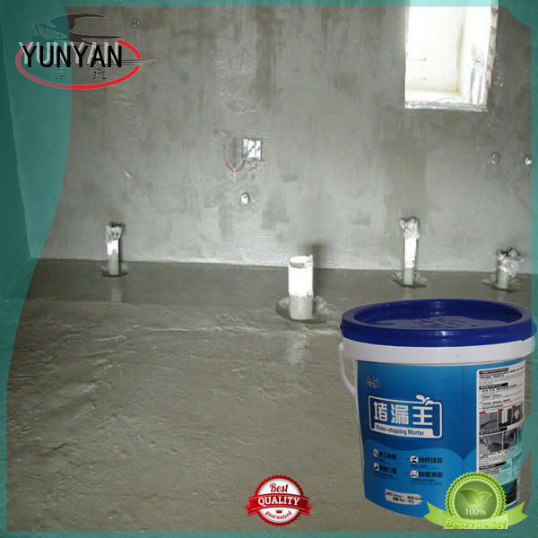 setting waterproof basement cement floor wps slurry YUNYAN Brand