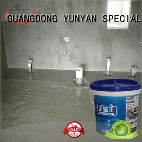 wps mortar cement YUNYAN Brand waterproof basement cement floor manufacture