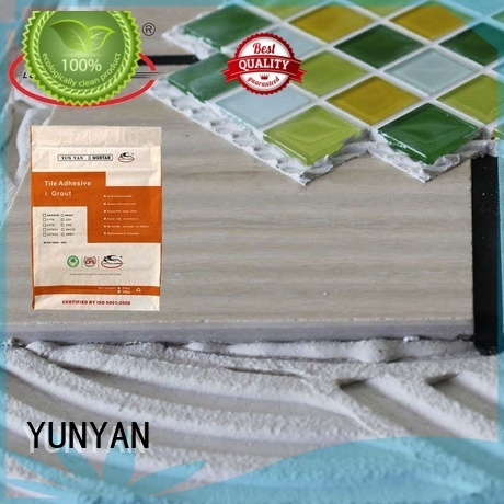 sanded Custom tile stone tile adhesive mosaic YUNYAN